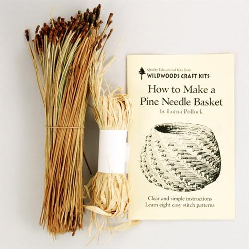 Pine Needle Basketry Kit