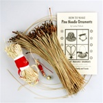 Pine Needle Christmas Ornament Kit