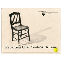 Repairing Chair Seats By Sanna D. Black