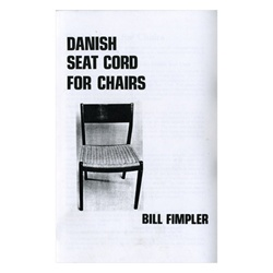 Danish Seat Cord for Chairs By William Fimpler